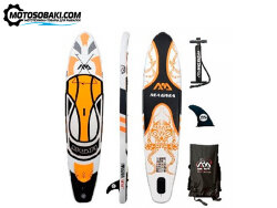 Сапборд надувной Aqua Marina MAGMA White/Orange S18