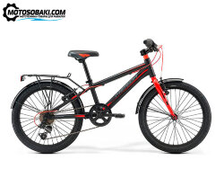 Велосипед Merida Dino J24 MattBlack/Red 2019