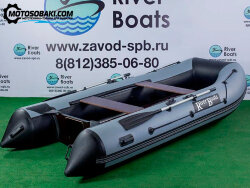 Лодка RiverBoats RB 370 (НДНД)
